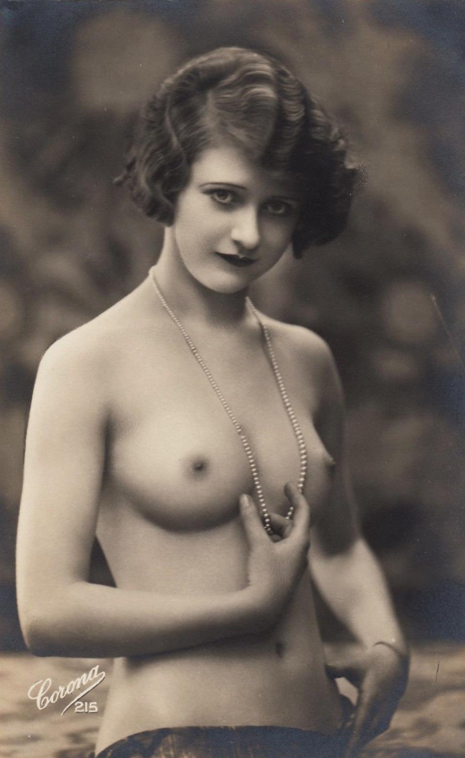 Vintage erotic nude postcards