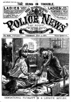 Murder By Lunatic – The Illustrated Police News – Thursday 11th July 19181
