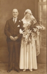 Bride and Groomc1920