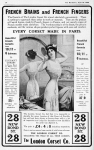 The London Corset Co. – The Bystander – Wednesday 14th April1909