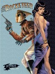 Rocketeer and Bettie Page by DaveStevens