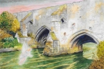 John Pulham – Fairies at Abbots Bridge, Bury StEdmunds