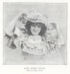 Marie Lloyd – The Sketch – 25th December1895