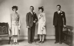 Bride and Groom – 25th May1943