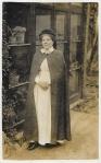 Nurse wearing a cloak c1900b